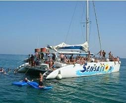 Catamaran Boat Party Sensation